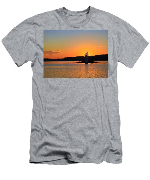 Lit By The Sun Men's T-Shirt (Athletic Fit)