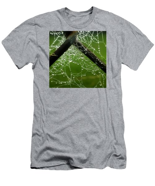 Lit Web Men's T-Shirt (Athletic Fit)