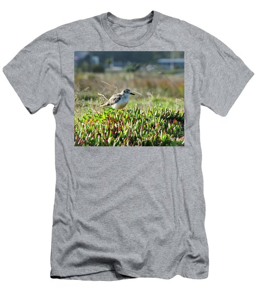 Men's T-Shirt (Slim Fit) featuring the photograph Little Bird by Yurix Sardinelly