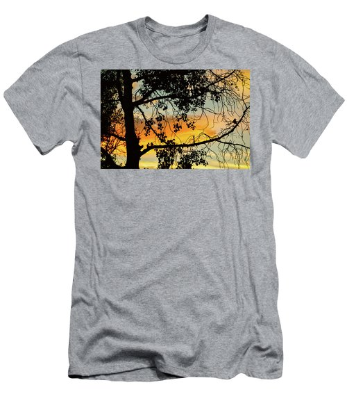 Men's T-Shirt (Athletic Fit) featuring the photograph Little Birdie Told Me So by James BO Insogna