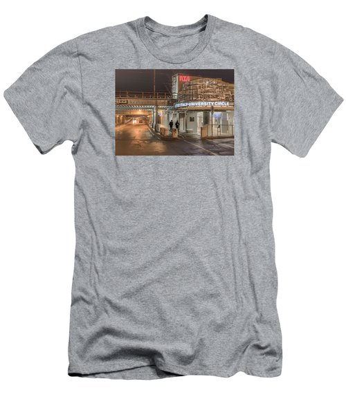 Men's T-Shirt (Slim Fit) featuring the photograph Little Italy Rta by Brent Durken