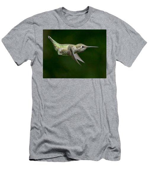 Little Missle Men's T-Shirt (Slim Fit) by Sheldon Bilsker