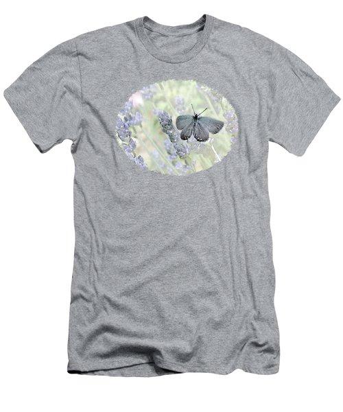 Little On Lavender Men's T-Shirt (Athletic Fit)