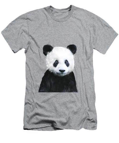 Little Panda Men's T-Shirt (Athletic Fit)