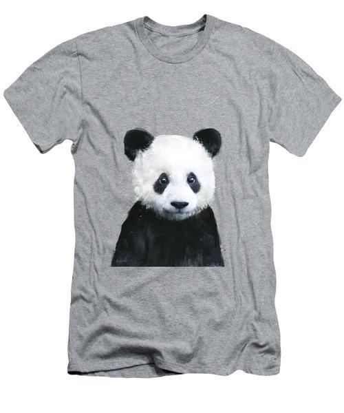 Little Panda Men's T-Shirt (Athletic Fit)