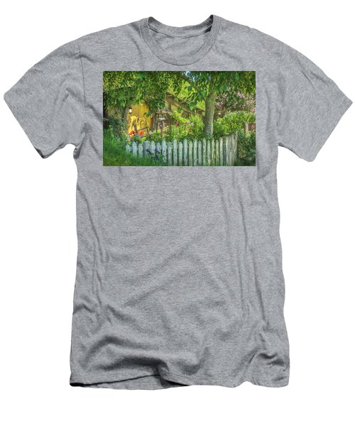 Little Picket Fence Men's T-Shirt (Athletic Fit)