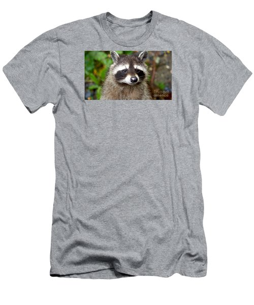 Little Racoon - Procyon Lotor Men's T-Shirt (Athletic Fit)