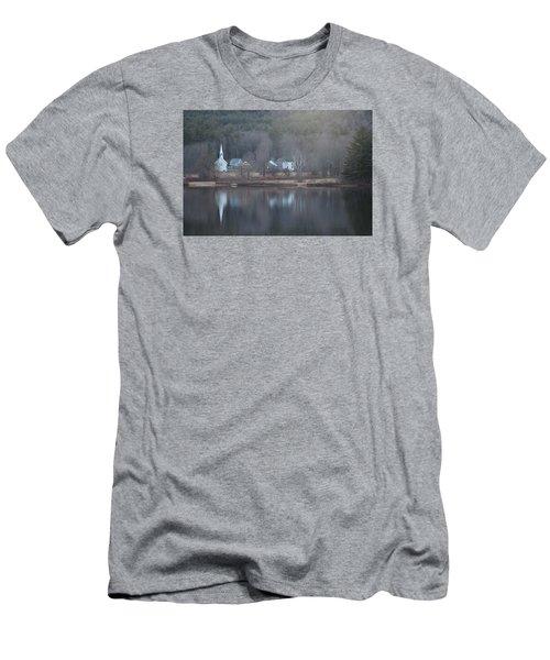 Little White Church Nh Men's T-Shirt (Athletic Fit)