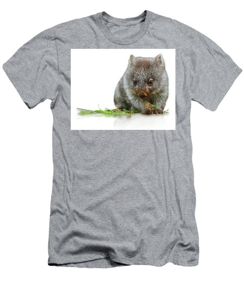 Little Wombat Men's T-Shirt (Athletic Fit)