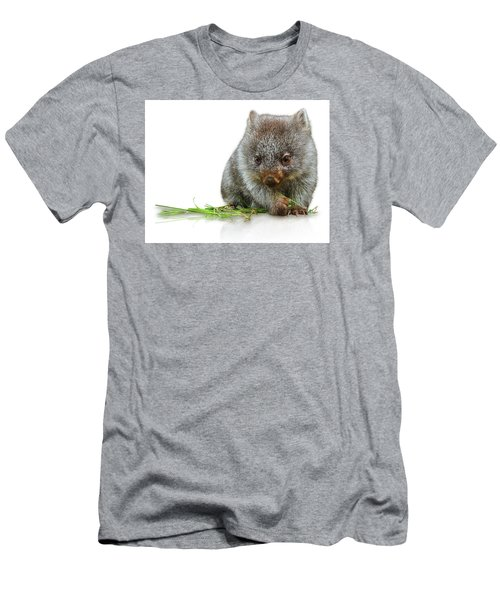 Little Wombat Men's T-Shirt (Athletic Fit)