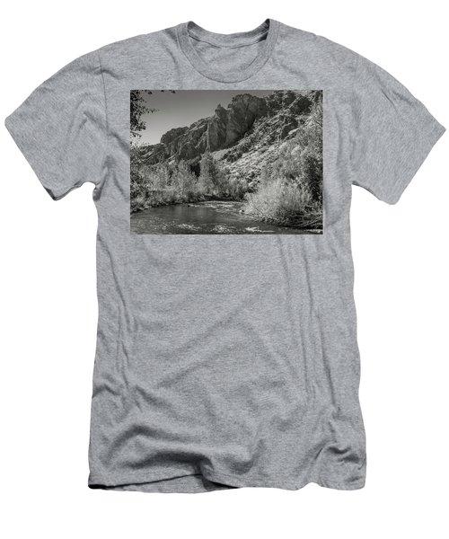Little Wood River 2 Men's T-Shirt (Athletic Fit)