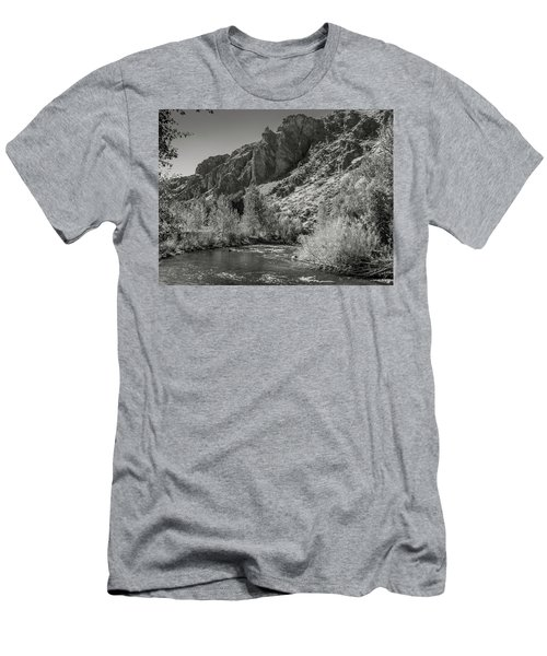 Little Wood River 2 Men's T-Shirt (Athletic Fit)