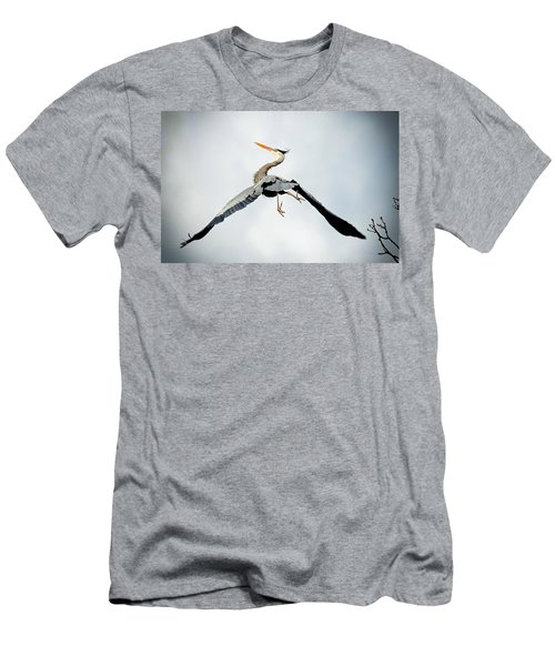Live Free And Fly Men's T-Shirt (Slim Fit)