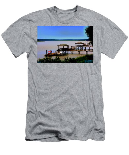 Living In The Lowcountry Men's T-Shirt (Athletic Fit)