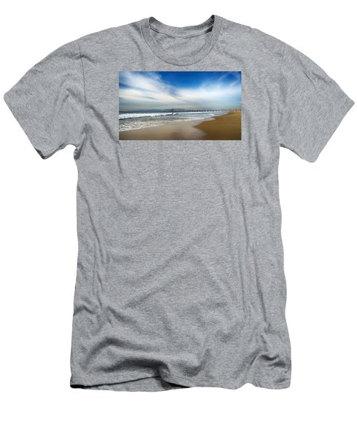 Men's T-Shirt (Athletic Fit) featuring the photograph Loan Sufer by Michael Hope
