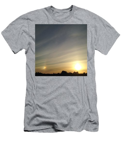 Lobbing Rainbows Into The Sun Men's T-Shirt (Athletic Fit)