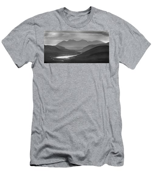 Loch Glascarnoch And An Teallach Men's T-Shirt (Athletic Fit)