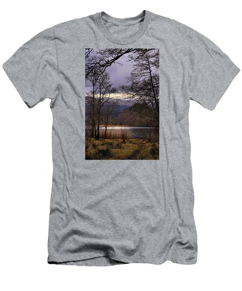 Men's T-Shirt (Slim Fit) featuring the photograph Loch Venachar by Jeremy Lavender Photography