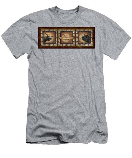 Lodge Panel Men's T-Shirt (Athletic Fit)