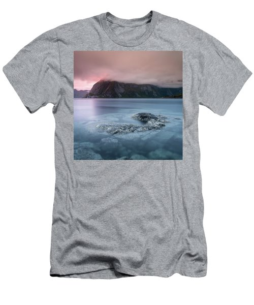 Lofoten Sunset Men's T-Shirt (Athletic Fit)