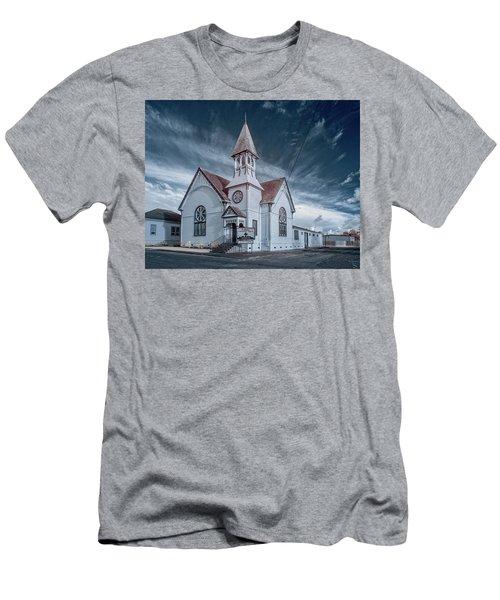 Loleta Church Men's T-Shirt (Slim Fit) by Greg Nyquist