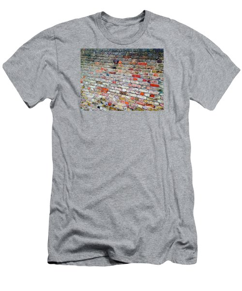 London Bricks Men's T-Shirt (Slim Fit) by Tiffany Marchbanks