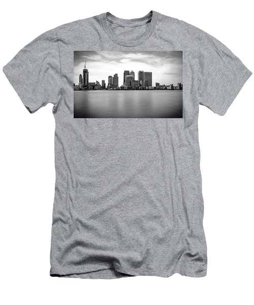 London Docklands Men's T-Shirt (Slim Fit) by Martin Newman
