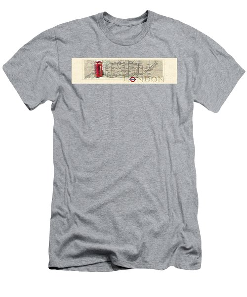 London Underground Men's T-Shirt (Athletic Fit)