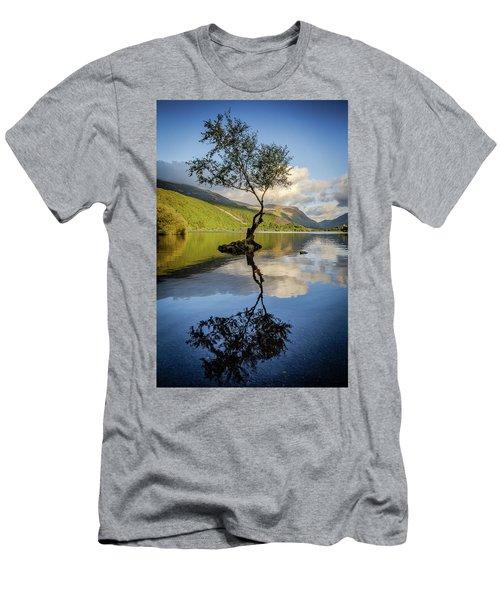 Lone Tree, Llyn Padarn Men's T-Shirt (Athletic Fit)
