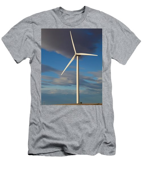 Lone Turbine Men's T-Shirt (Athletic Fit)