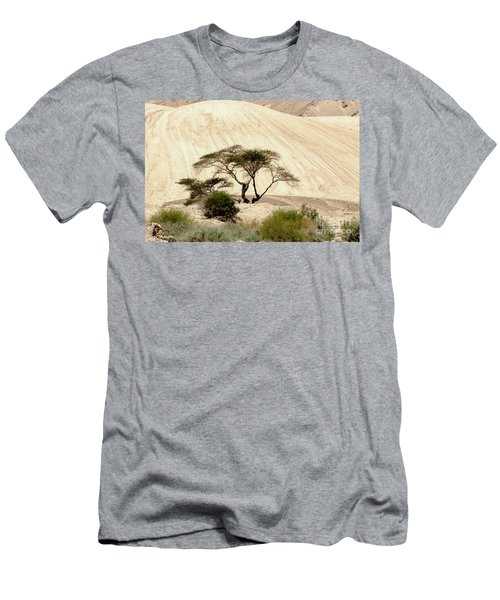 Men's T-Shirt (Slim Fit) featuring the photograph Lonely Tree by Arik Baltinester