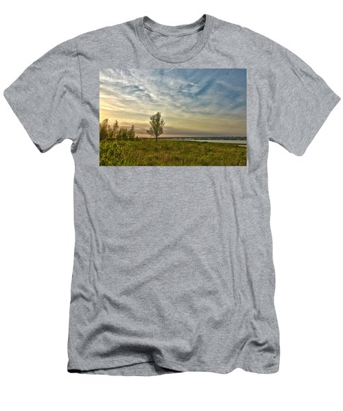 Lonely Tree In Dintelse Gorzen Men's T-Shirt (Athletic Fit)