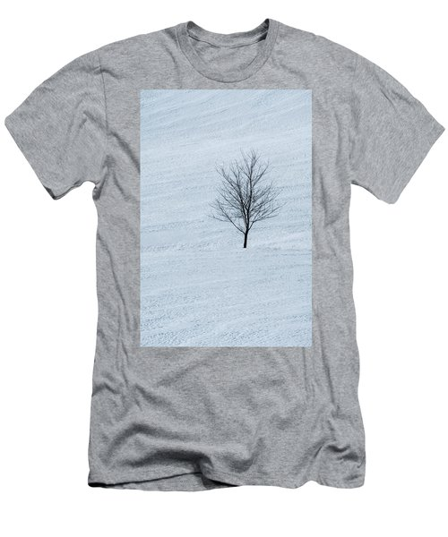 Men's T-Shirt (Athletic Fit) featuring the photograph Lonely Tree by Tom Singleton