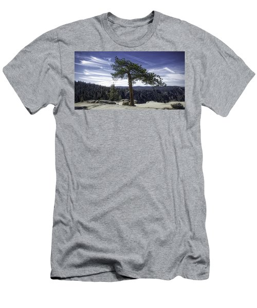Men's T-Shirt (Athletic Fit) featuring the photograph Lonesome Tree by Chris Cousins