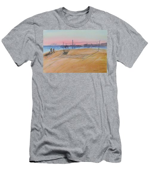 Long Beach Icons Men's T-Shirt (Athletic Fit)