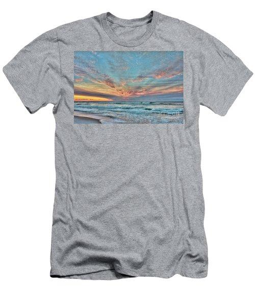 Long Beach Island Sunrise Men's T-Shirt (Athletic Fit)