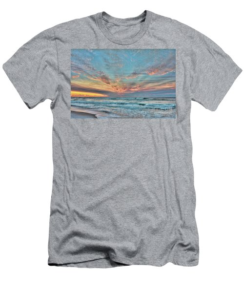 Long Beach Island Sunrise Men's T-Shirt (Athletic Fit)