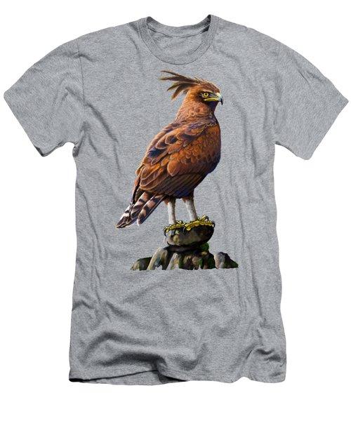 Long Crested Eagle Men's T-Shirt (Athletic Fit)