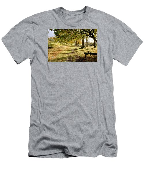 Long Shadows Of The Afternoon Men's T-Shirt (Athletic Fit)