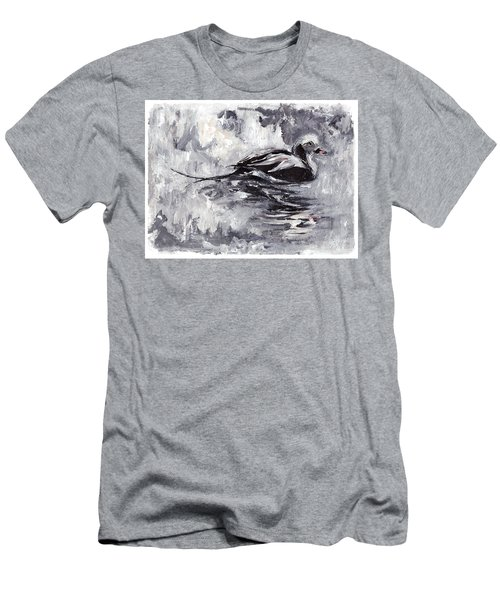 Long-tailed Duck Men's T-Shirt (Athletic Fit)