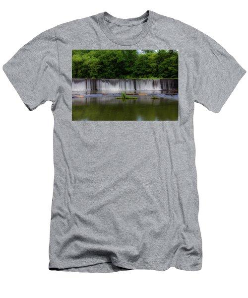 Long Waterfall Men's T-Shirt (Athletic Fit)