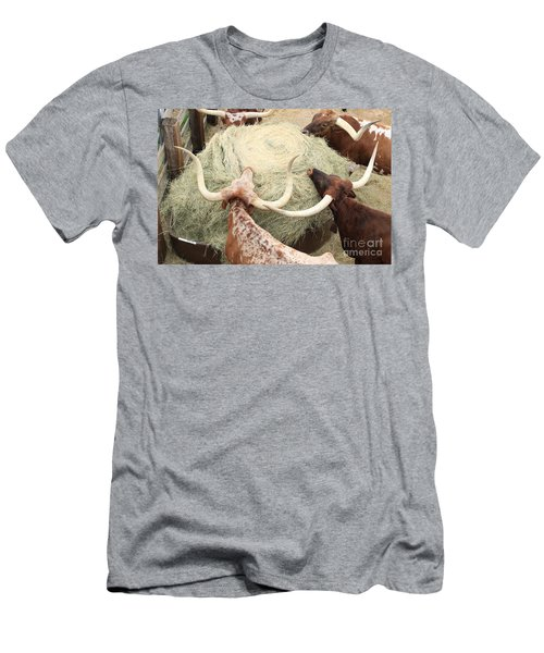 Longhorn Puzzler Men's T-Shirt (Athletic Fit)