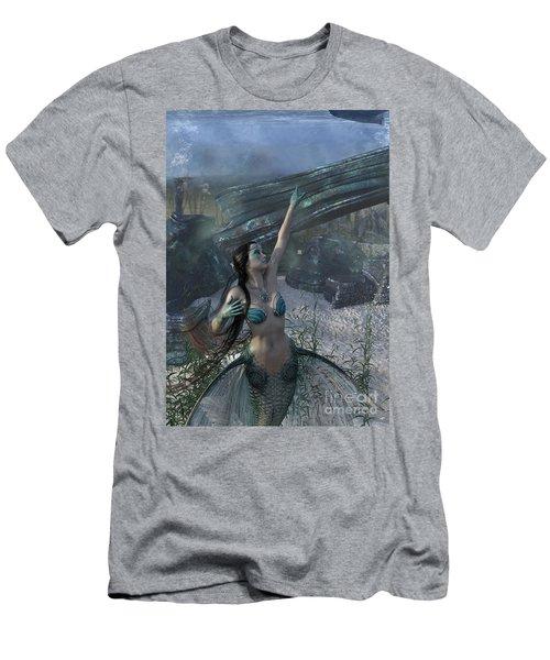 Longing For Land Men's T-Shirt (Athletic Fit)
