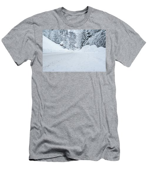 Lonly Road- Men's T-Shirt (Athletic Fit)