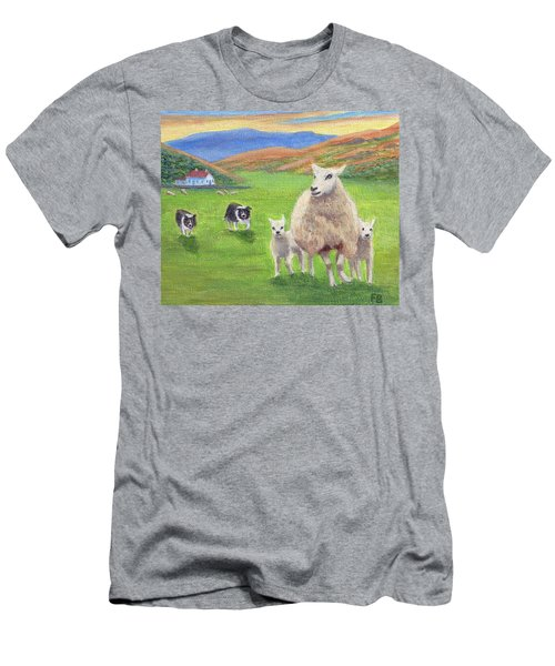 Look Back Men's T-Shirt (Athletic Fit)