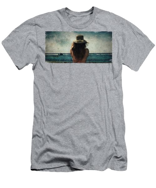 Looking At The Horizon Men's T-Shirt (Athletic Fit)