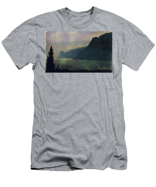 Looking At The Lake... Men's T-Shirt (Athletic Fit)
