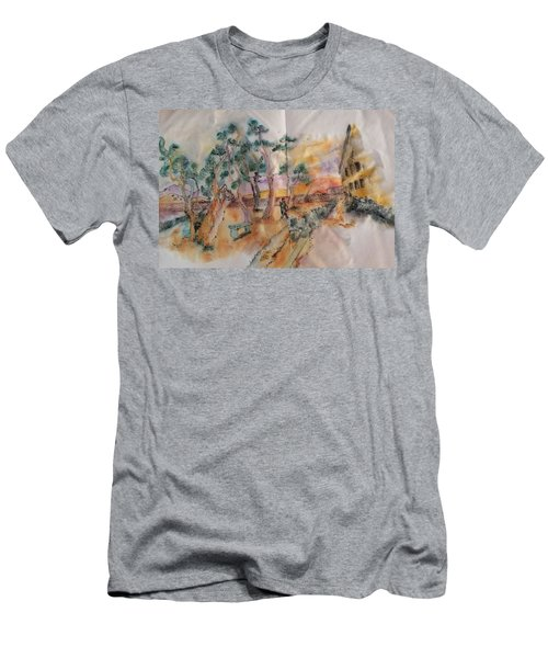 Looking At Van Gogh Album Men's T-Shirt (Athletic Fit)