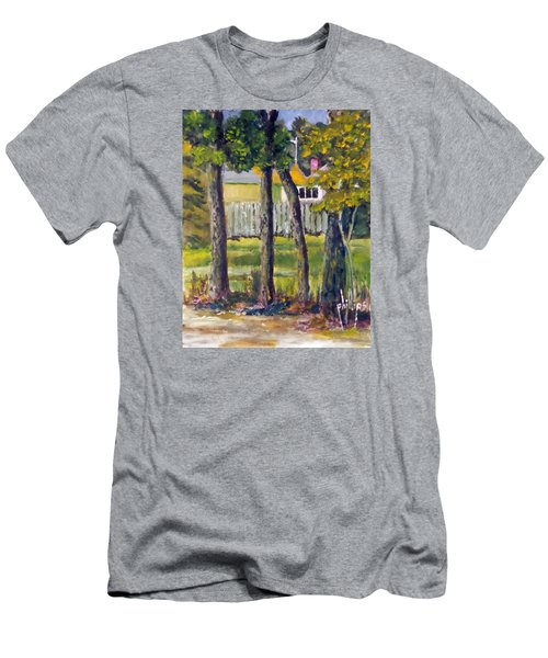 Looking Into Brenn Marr Men's T-Shirt (Slim Fit) by Jim Phillips
