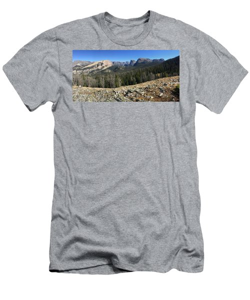 Looking Into The Bridger Wild Lands Men's T-Shirt (Athletic Fit)